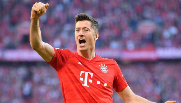 Robert Lewandowski llevó al Bayern Munich a conquistar la Champions League este año. (Foto: AFP)