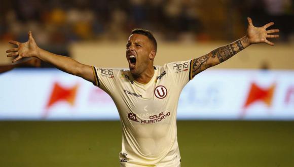 Pablo Lavandeira se lesionó frente a Sporting Cristal el pasado sábado. (Foto: GEC)