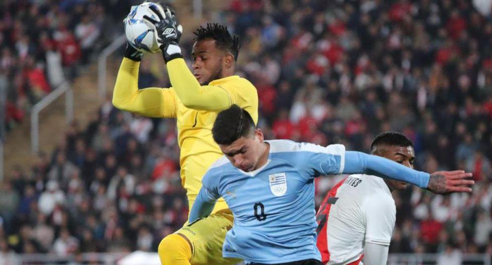 Carlos Cáceda fue uno de los destacados de la Selección Peruana Sub 23. (Reuters)