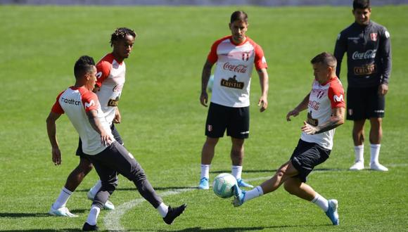 La Selección Peruana podría jugar el viernes con una fuerte lluvia. (Foto: Jesús Saucedo)