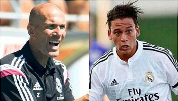 Benavente fue dirigido por Zidane en el Real Madrid Castilla. (Fotos: agencias)