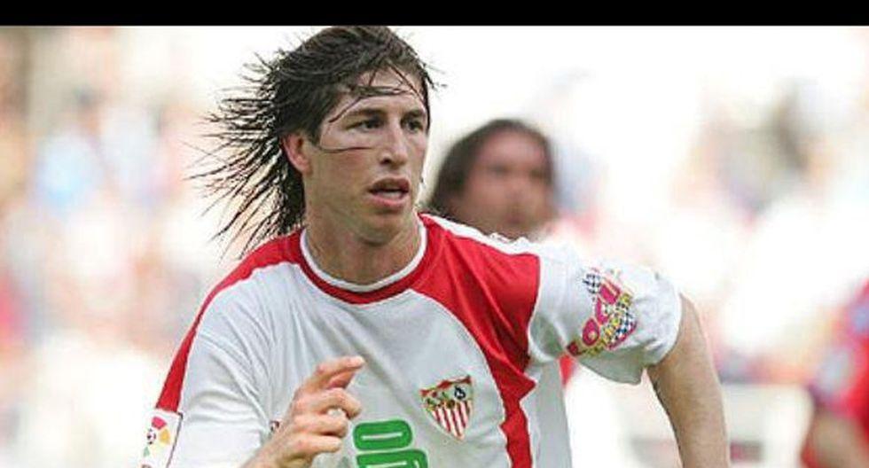 Sergio Ramos, del Sevilla al Real Madrid.