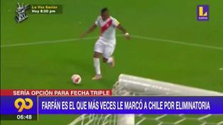 Jefferson Farfán y su posible retorno a la selección peruana