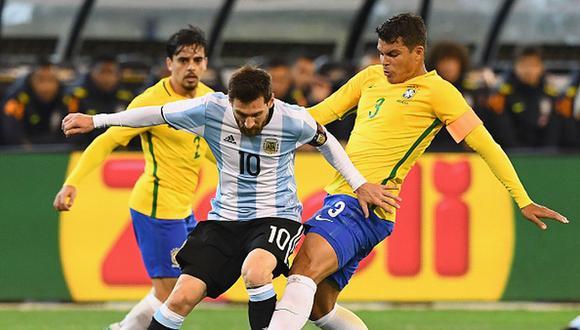 Thiago Silva disputa su tercera Copa América. (Getty)
