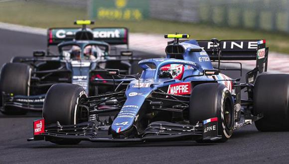 Esteban Ocon consigue su primer triunfo en el Mundial de Fórmula Uno. (Foto: F1)