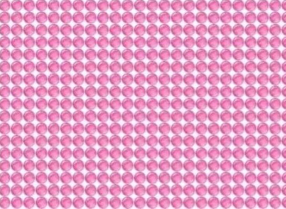 El desafío visual de las bolas rosadas que te pide ubicar el error en la imagen. (Facebook)