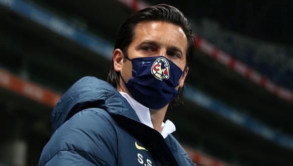 Santiago Solari llegó al América luego de varios meses de inactividad tras su paso por el Real Madrid (Foto: Getty Images)