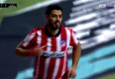 Luis Suárez sigue en racha: se lució con gol ante Valencia y es 'pichichi' de LaLiga [VIDEO]
