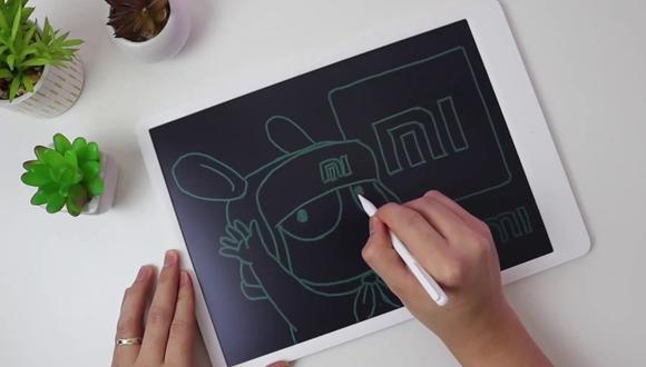 Con esta pizarra digital podrás ahorrar una gran cantidad de papel  y tinta. (Foto: Xiaomi)