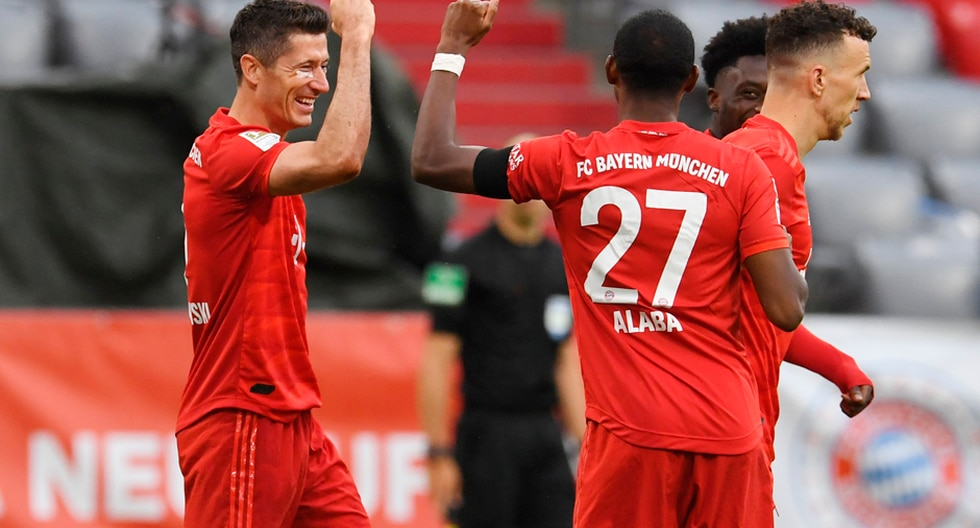 Bayern Munich vs Frankfur, resumen: VER goles, incidencias y video de mejores jugadas por la jornada 27 de la Bundesliga 2020 Alemania | Depor