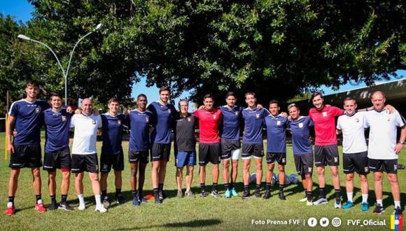 Venezuela liberó a 11 jugadores de la lista de emergencia que reforzó a la selección. (Foto: @FVF_Oficial)
