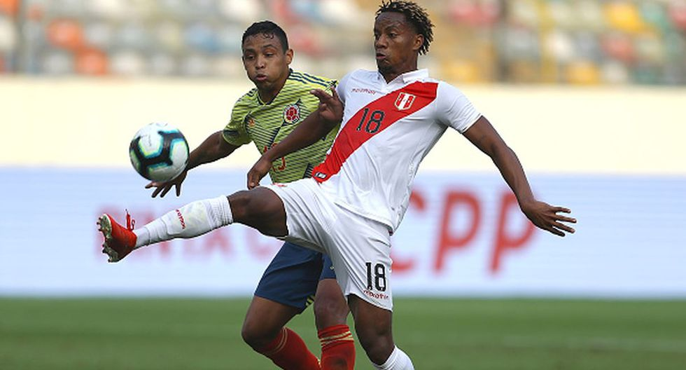 Perú vs. Brasil | Carrillo en la Selección Peruana (Foto: Getty Images)