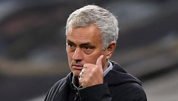 La promesa de José Mourinho a Sergio Reguilón. (Foto: AFP)