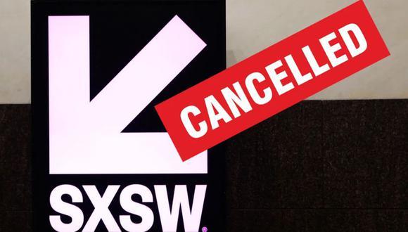 SXSW 2020: el popular evento fue cancelado debido al coronavirus.