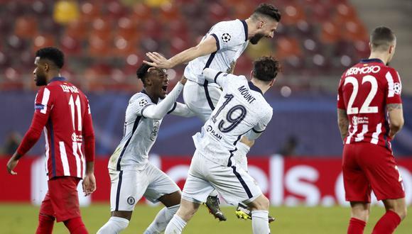 Chelsea venció 1-0 al Atlético de Madrid por la ida de octavos de Champions. (EFE)