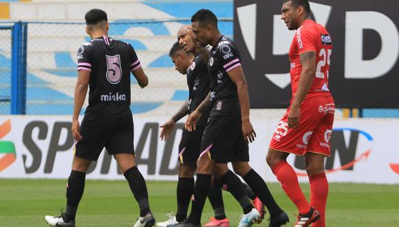 Sport Huancayo y Sport Boys se midieron por la Fecha 9 de la Fase 2. (Foto: Liga 1)