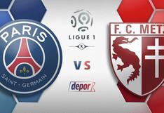 PSG vs. Metz EN VIVO por ESPN y ESPN Play: minuto a minuto del partido por Ligue 1