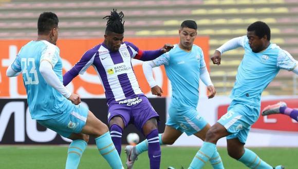 Carlos Ascues anotó el 2-0 de Alianza Lima ante Llacuabamba. (Foto: Liga 1)
