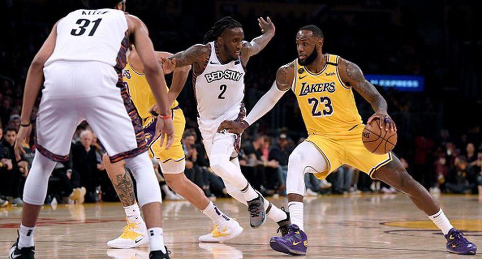 NBA: dos jugadores de Los Angeles Lakers dieron positivo por coronavirus. (Getty Images)