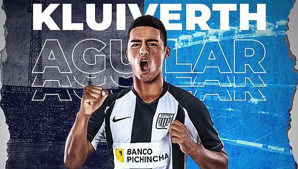 Kluiverth Aguilar debutó con Alianza Lima en noviembre del 2019. (Foto: Alianza Lima)