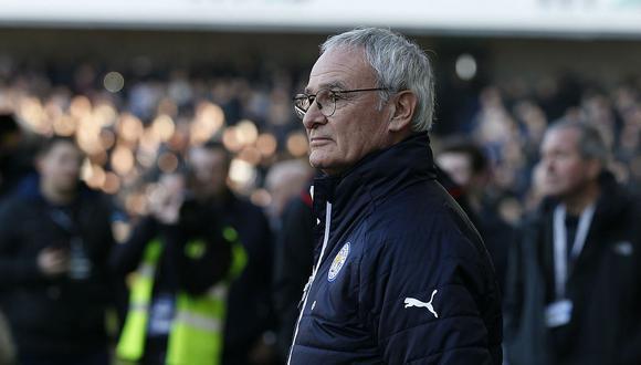 Claudio Ranieri logró con el Leicester City el título de la Premier League en el 2016. (Foto: AFP)