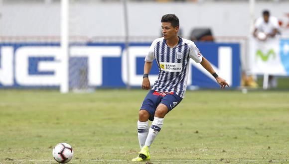 Anthony Rosell jugó en Alianza Lima esta temporada. (Foto: GEC)