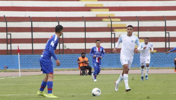 Mannucci venció 1-0 a Llacuabamba en el estadio Miguel Grau. (Foto: Liga 1)