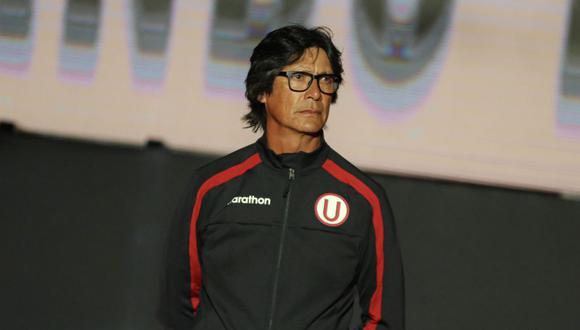 Ángel Comizzo cumplió ante la Universidad San Martín 100 partidos dirigiendo a los cremas. (Foto: Universitario de Deportes)