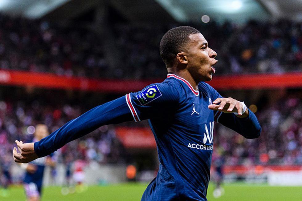 1 | Kylian Mbappé | Club: PSG | Valor de mercado: 160 millones de euros. (Getty)
