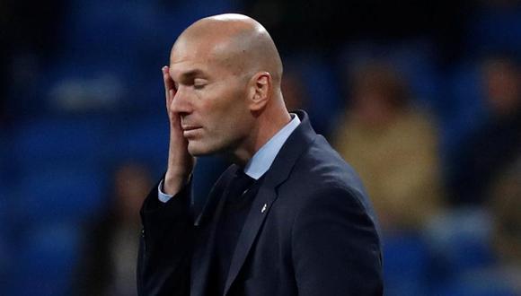 Zidane podría ver su puesto en riesgo si no le gana a FC Barcelona. (Foto: Reuters).