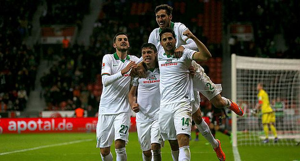 Claudio Pizarro es el máximo goleador extranjero en la Bundesliga. (Getty Images)