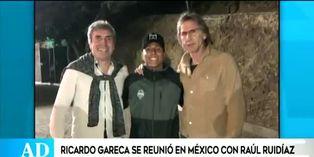 Ricardo Gareca inicia reuniones con Raúl Ruidíaz