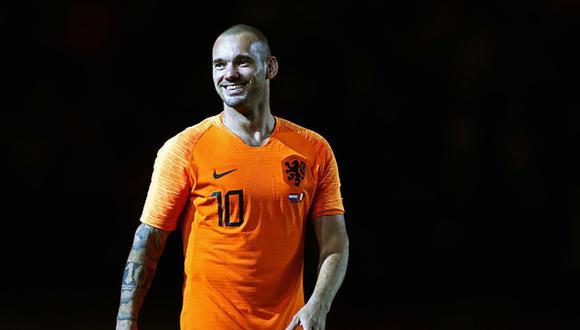 Wesley Sneijder ganó la Champions League 2010 con el Inter de Milán. (Getty)