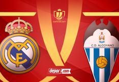 Real Madrid vs. Alcoyano EN VIVO: canales de TV y partido por Copa del Rey