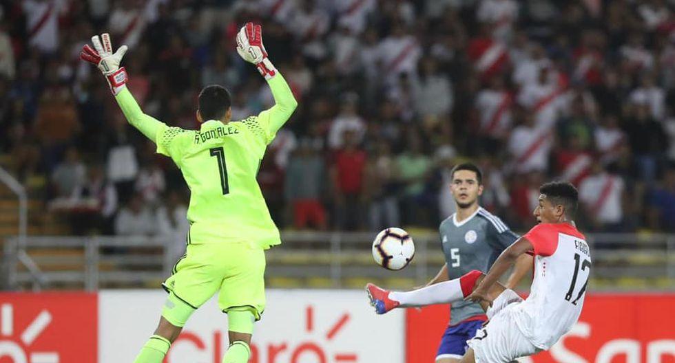 Perú no pudo ante Paraguay y se va despidiendo del Sudamericano.   FPF
