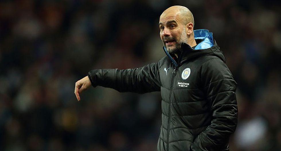 Pep Guardiola es el entrenador del primer equipo del Manchester City desde el 2016. (Getty)