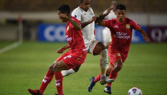 Sport Huancayo ganó 1-0 ante UTC por la Copa Sudamericana. (Foto: Ernesto Benavides / GEC)