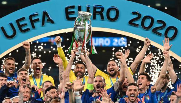 Italia consiguió su segundo título de la Eurocopa en toda la historia. (Foto: AFP)