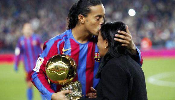 Ronaldinho ha jugado en clubes como PSG, Barcelona, AC MIlan, entre otros. (Getty)