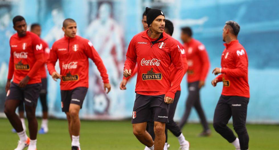 Paolo Guerrero se unió a los entrenamientos de la Selección de cara a la Copa América. (Foto: Daniel Apuy)