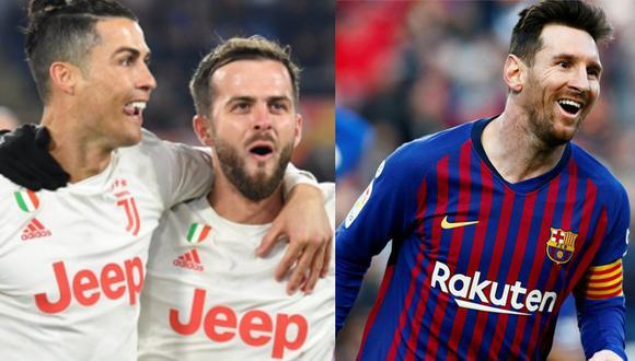 Pjanic elogió a Messi. (Foto: Agencias)