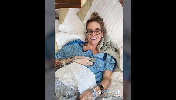 Mujer salva una vida y aprueba examen de medicina mientras está en labor de parto. (Foto: Verygoodmothersclub / TikTok)