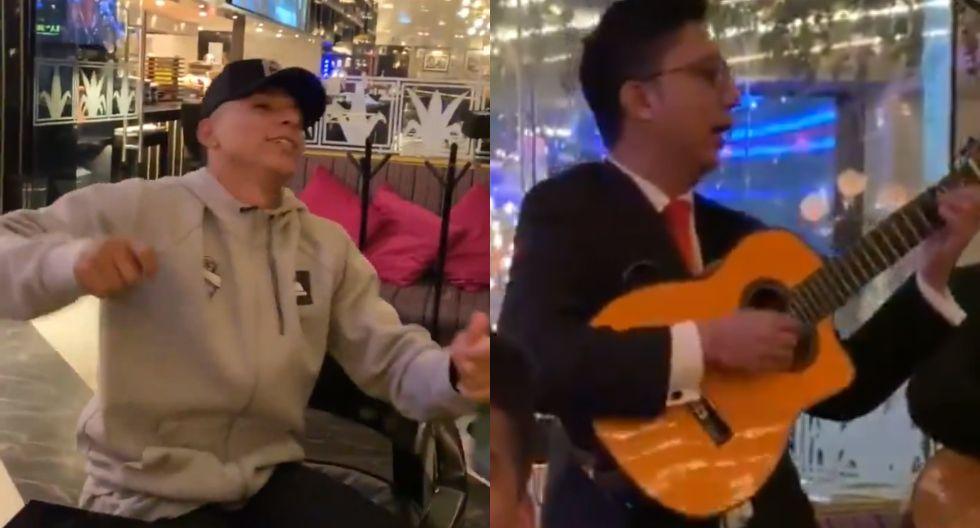 Ruidíaz sorprendió cantando con mariachis (Seattle Sounders FC)
