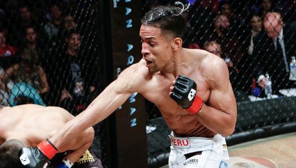 Marlon Gonzales tiene un récord de 15-4-2 como peleador profesional. (Combate Américas)
