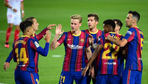 Barcelona debuta ante Ferencváros en la Champions League 2020-21. (AFP)