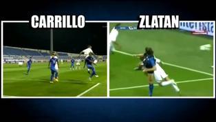 Comparan anotación de André Carrillo con el de Zlatan Ibrahimović