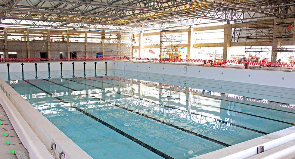 Lima 2019: Complejo deportivo Villa María del Triunfo, centro Acuático, sede del water polo. (Foto: Facebook Lima 2019)