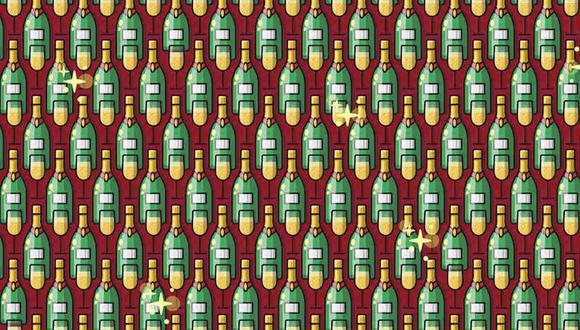 Ubica las 3 botellas pequeñas en la imagen. (Foto: Noticieros Televisa)