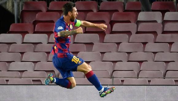 Barcelona clasificó a cuartos de final de la Champions League 2020. (Foto: LLUIS GENE / AFP)