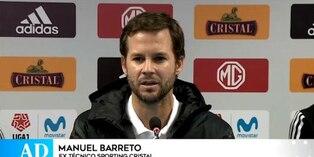 Sporting Cristal ya no será dirigido por Manuel Barreto
